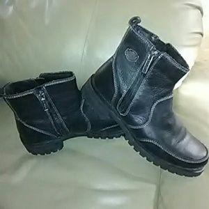 Harley Davidson womens boots 8.5 LIKE NEW